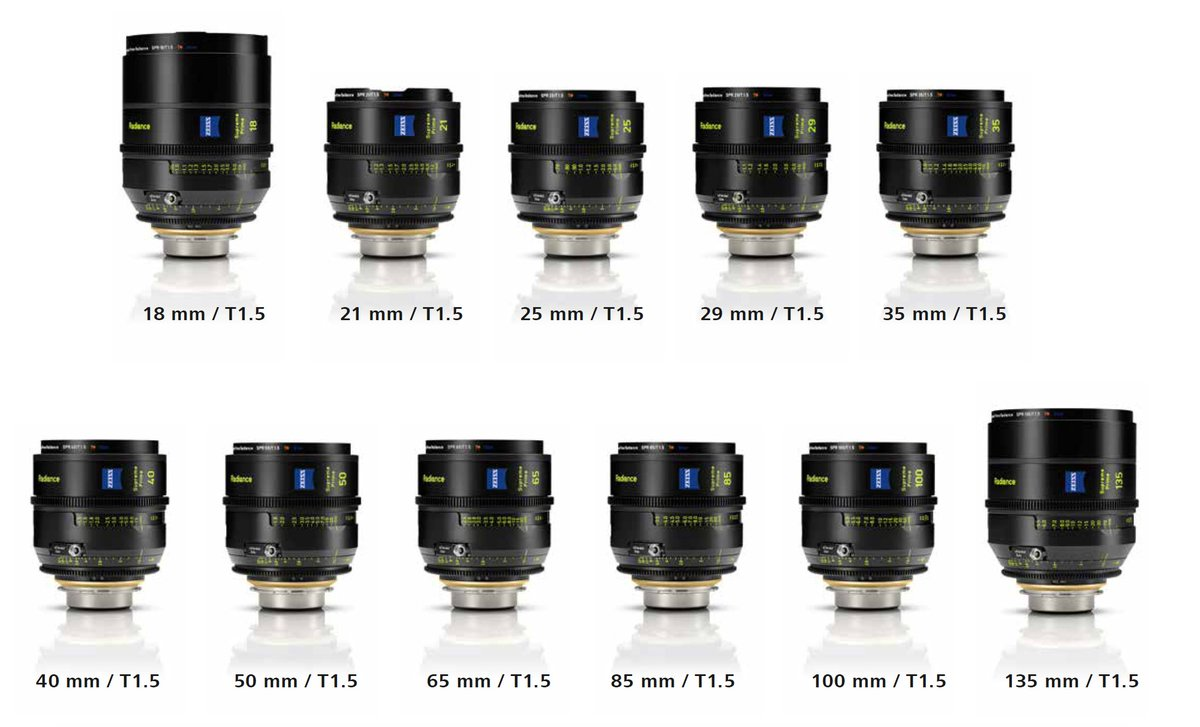 @ZEISSCine announce new sets and focal lengths of Supreme Radiance Primes!