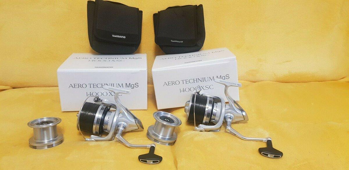 Ad - 2x Shimano Aero Technium Mgs 14000 XSC On eBay here -->> https://t.co/JreqybB4vd  #carpfi
