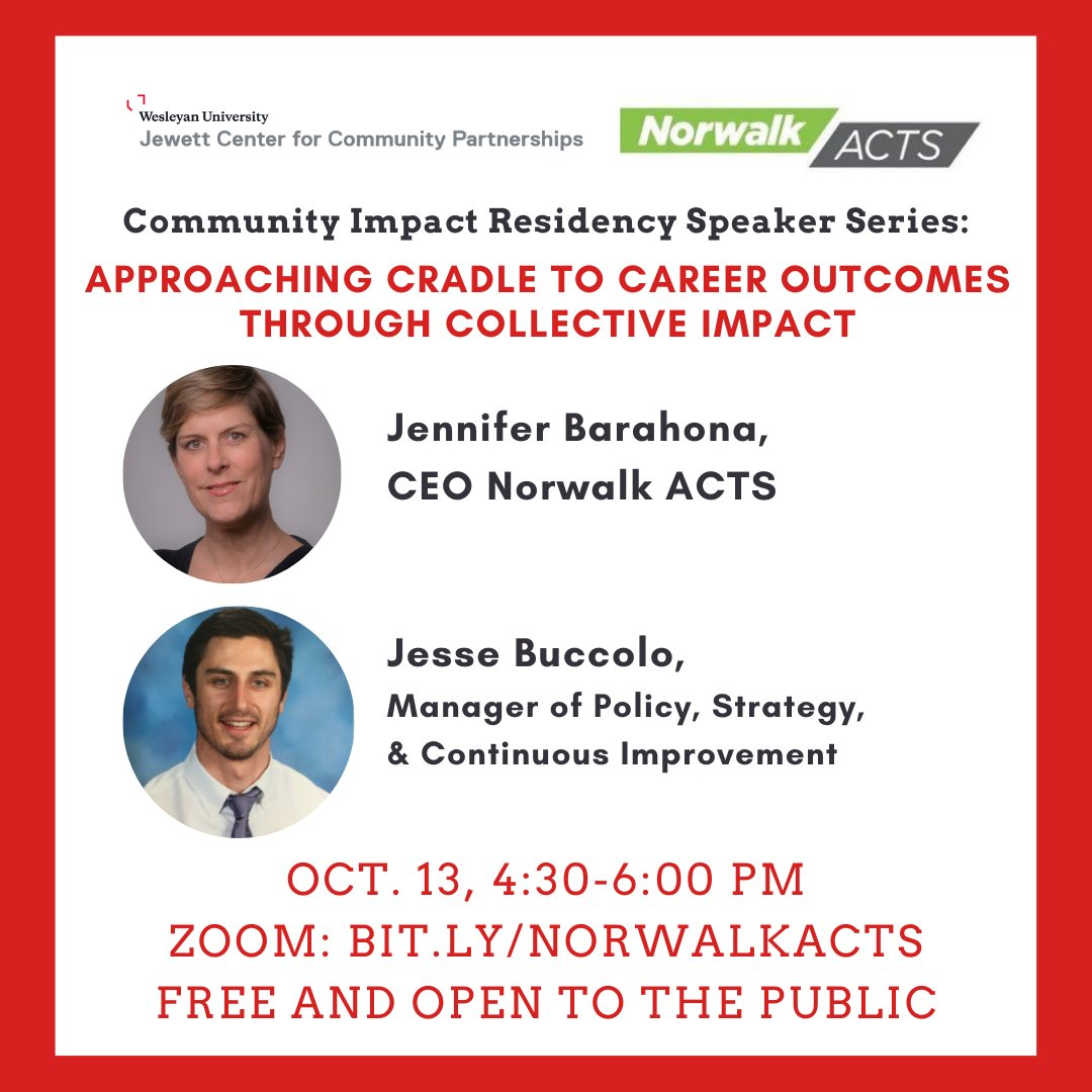 test Twitter Media - Join @NorwalkACTS1 and @DocConner13 on 10/13, 4:30-6, for a discussion on collective impact, insights from Norwalk, and ways to implement the model in other communities: https://t.co/I7IcNtqY7w https://t.co/gdAPOoAH5Z