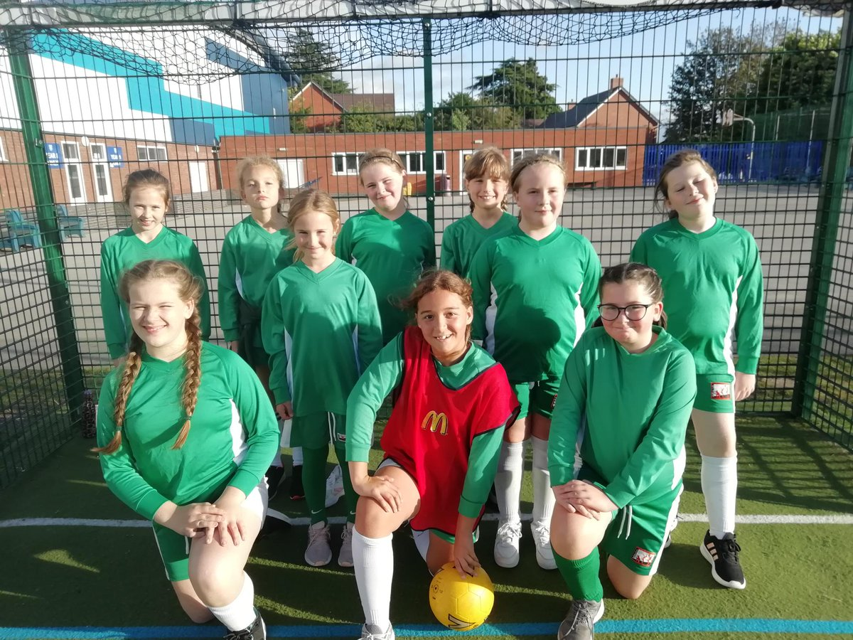 test Twitter Media - Y5 girls football - The girls ventured onto the pitch missing the experienced y6 players. The size of the pitch and the wind, made life difficult, but they were resolute in defence. 0-2, 0-0, 0-1, 0-0. Well done girls. https://t.co/L6g6zlxNsu