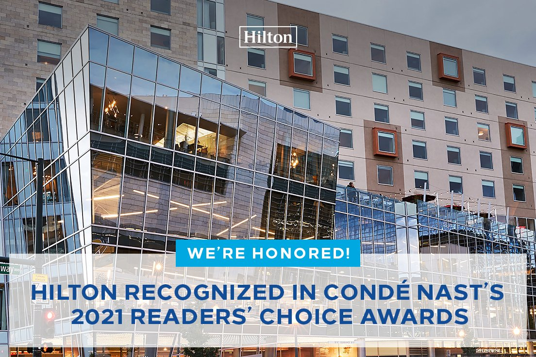 Image from ConradHotels's tweet