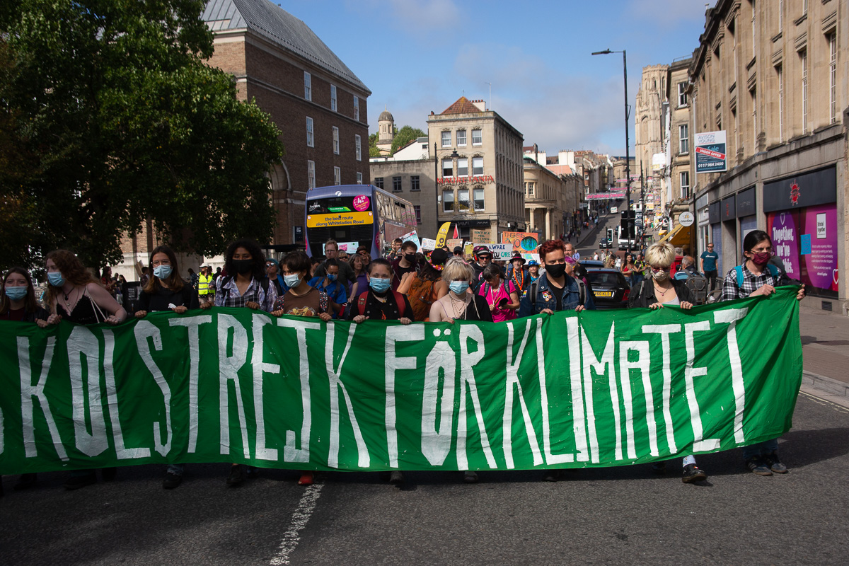 It feels like a long time ago that @GretaThunberg marched through #Bristol as part of #fridays4future - great to see everyone in attendance for today's protest https://t.co/rdUVQK7KK2