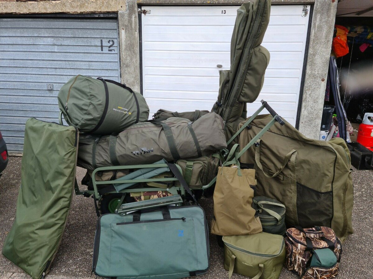 Ad - Carp fishing tackle full set up for sale On eBay here --&<b>Gt;</b>&<b>Gt;</b> https://t.co/KZd