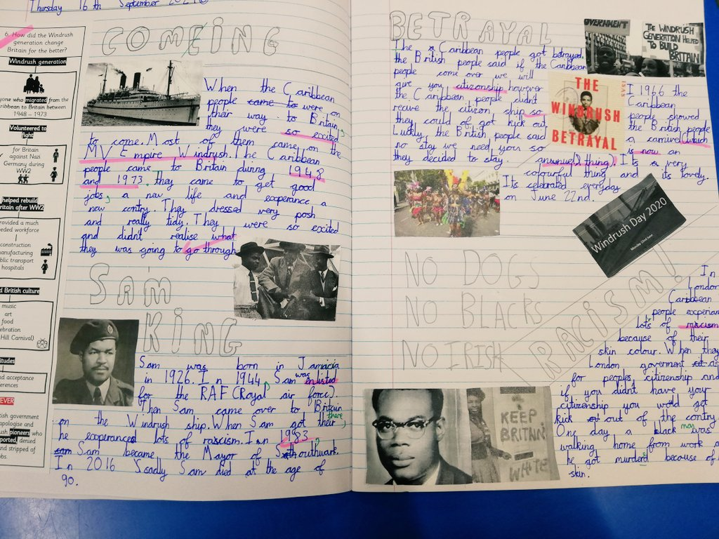 test Twitter Media - Year 6 have wowed us with their double page spreads in history. This year we are transforming our afternoon curriculum and are so proud of what our children have produced so far. https://t.co/UCG1ema6mB