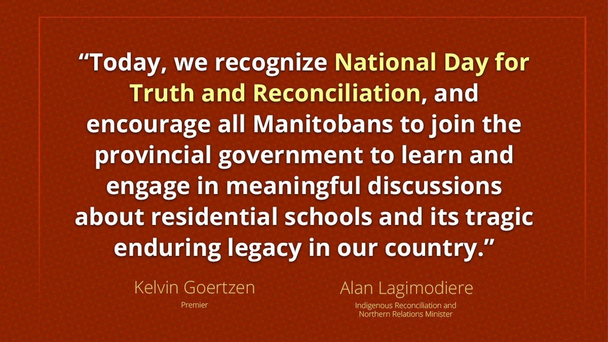 test Twitter Media - Observing today is vital to memorializing residential school experiences, witnessing and honouring the healing journeys of survivors and their families, and committing to the ongoing process of reconciliation.   https://t.co/NqkwO4qV9o  #mbpoli #TruthAndReconciliation https://t.co/S76WRzQhn9