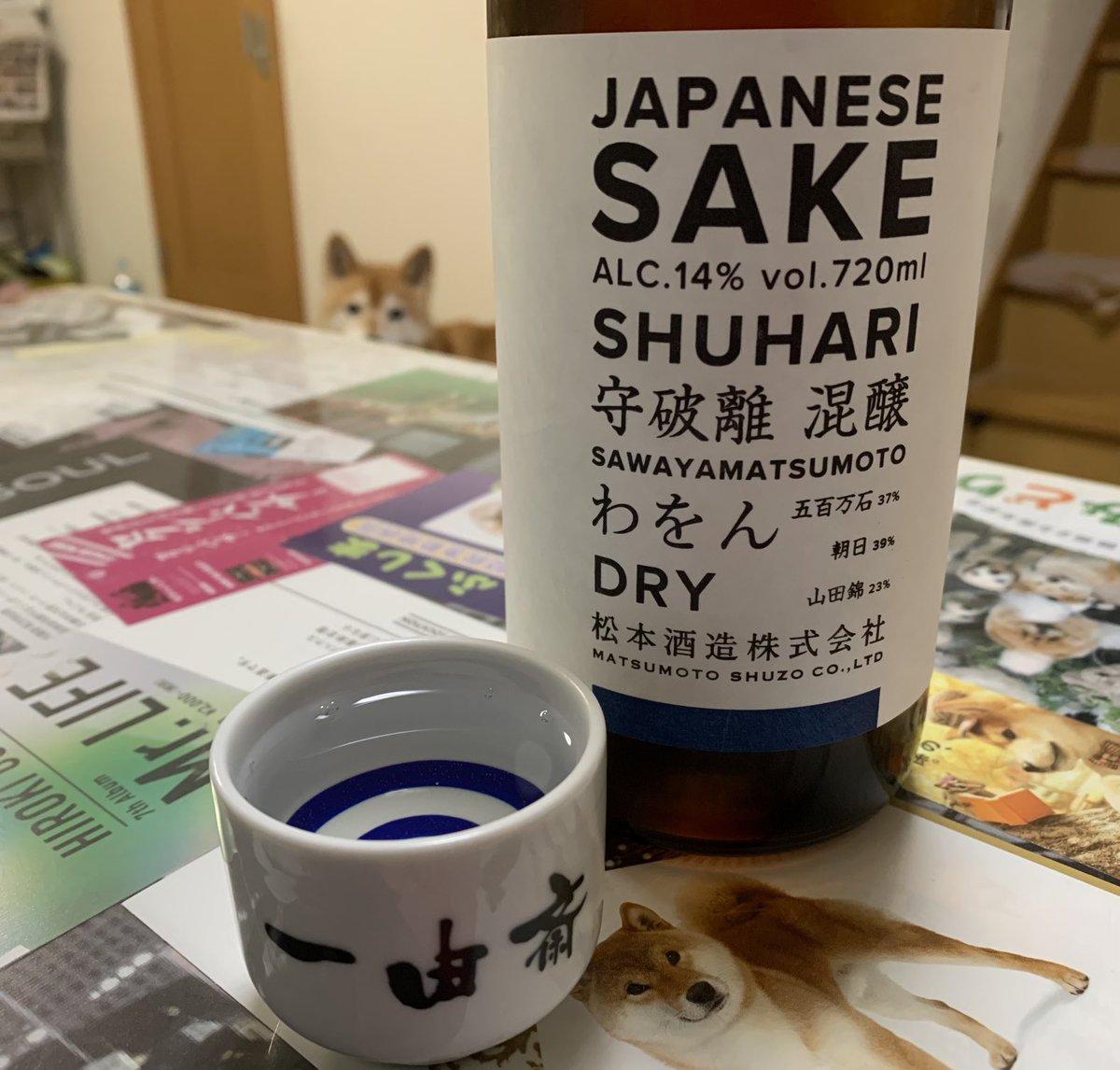 test ツイッターメディア - では始めます。 京都府の松本酒造 「守破離 わをん ドライ」。 澤屋まつもと。 こっちの方が通ってますかね。 発酵した際の炭酸ガスで ちょっとピリッとする。 https://t.co/ICG8WnCe67