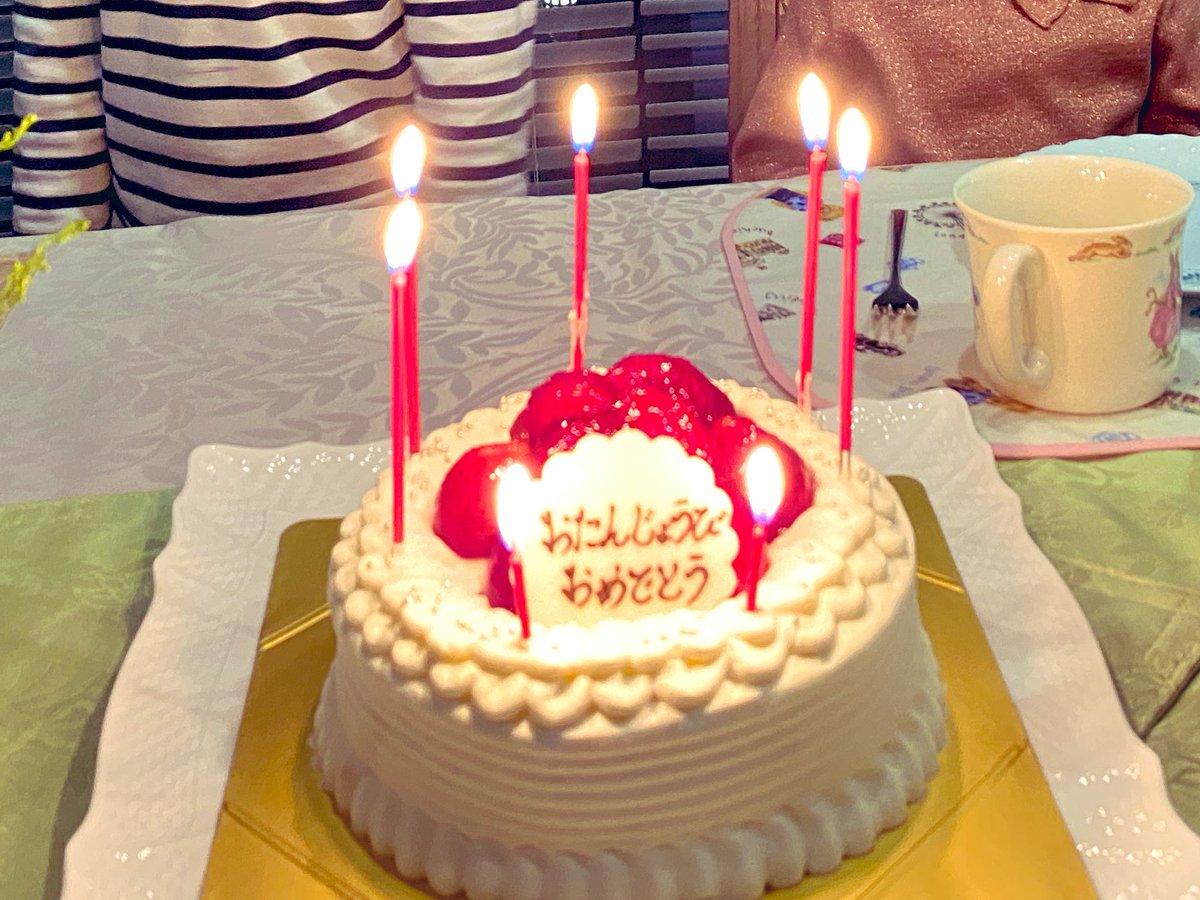 test ツイッターメディア - 息子7歳の誕生日。 毎度お馴染みマールブランシュさんのケーキ最高でした。 https://t.co/XjzyZPGFFC