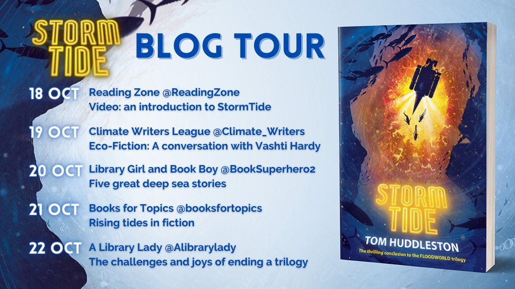 test Twitter Media - TOMORROW! The StormTide blog tour kicks off with an introductory video and short (but exciting!) reading from the book hosted by @readingzone. Watch this space.  And you can pick up the book here: https://t.co/1CZFcvPccn  @elladkahn @DKWLitAgency https://t.co/gtpWy4r9dW