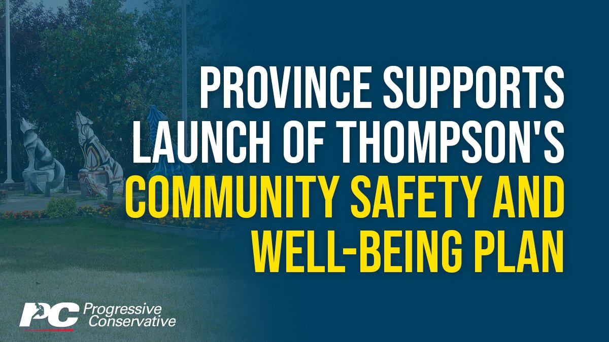 test Twitter Media - The City of Thompson is launching a new plan to address crime and create a safer, healthier and more inclusive community.   Details: https://t.co/oyvZDWCzIS  #mbpoli https://t.co/HXzRkvmoR1
