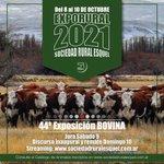 Catálogo Expo Bovina 2021 - SRE del 08 al 10 de Octubre 2021  https://t.co/DqvSzrm5QZ https://t.co/e1sVOFCgDs