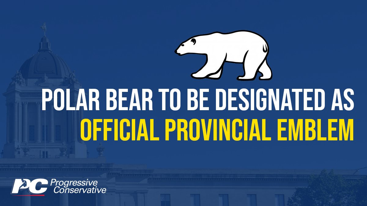 test Twitter Media - Recognizing the polar bear as an official symbol of Manitoba would help build on our province's brand as the 'polar bear capital of the world' and a must-see, one-of-a-kind tourism attraction for visitors of all ages.  https://t.co/JogIm2bB8E  #mbpoli https://t.co/jml4VLH5P8