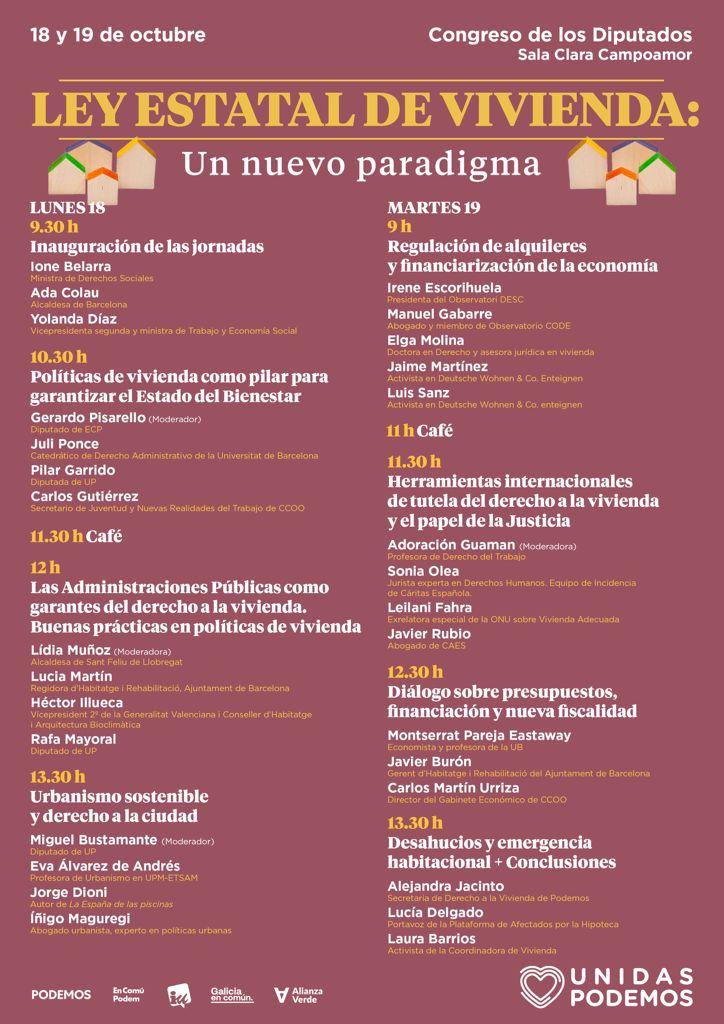 """test Twitter Media - ‼️Mañana estaremos en la mesa redonda """"Regulación de alquileres y financiarización de la economía"""", con @iescorihuela, @Observa_CODE y @dwenteignen👏  ¡Jornadas """"Ley Estatal de #Vivienda: Un nuevo paradigma"""" en el @Congreso_Es!  🗓️19 Oct, 9h ℹ️https://t.co/ZXDyKfZNsA #DESCA https://t.co/At6zBDZOtR"""