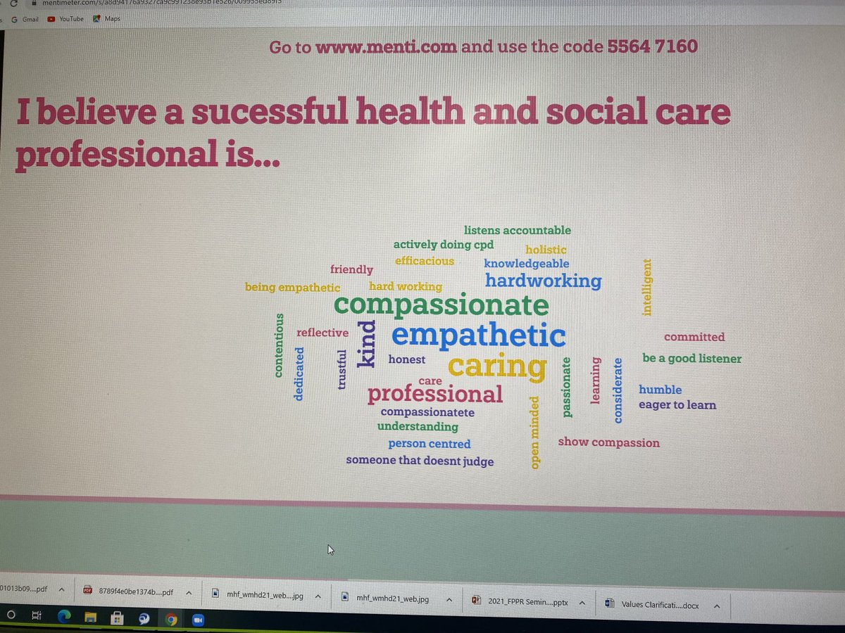 test Twitter Media - We had some great responses to questions about health professionals, values and research today! @iresearch @blueprintteach @N4LTH @NTF_Tweet https://t.co/cCastwYCAp
