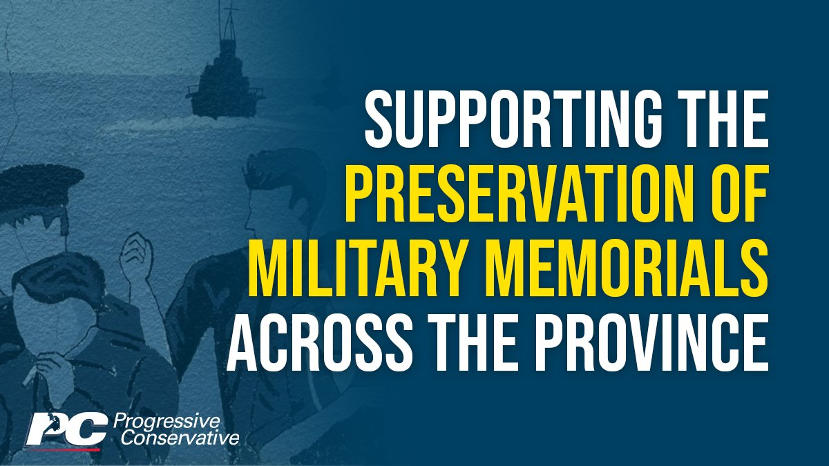 test Twitter Media - Our PC government is proud to support the work of local legions, veterans associations and communities to preserve military memorials.   Get the details here: https://t.co/Xyl65A9lm0 https://t.co/ymNq5Yvtur