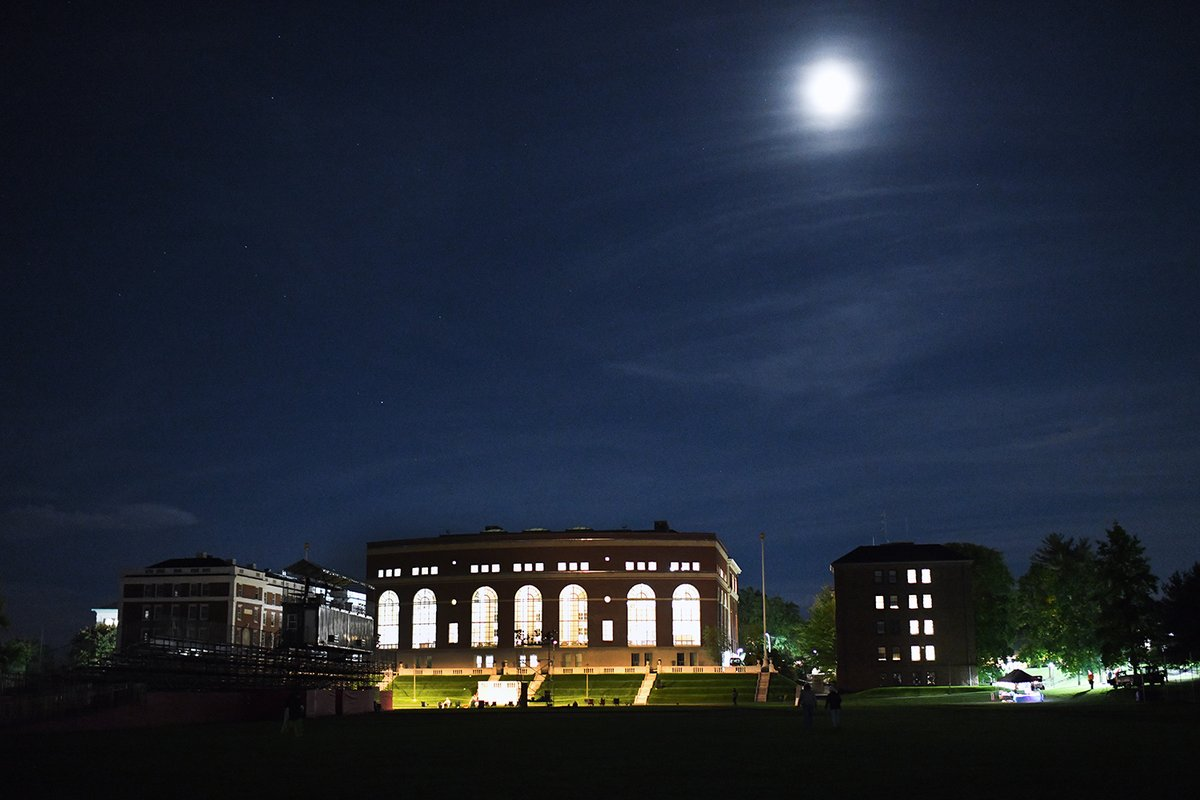 test Twitter Media - Beauty in the darkness. We love seeing Olin lit up across campus! https://t.co/0zvksBp2SU