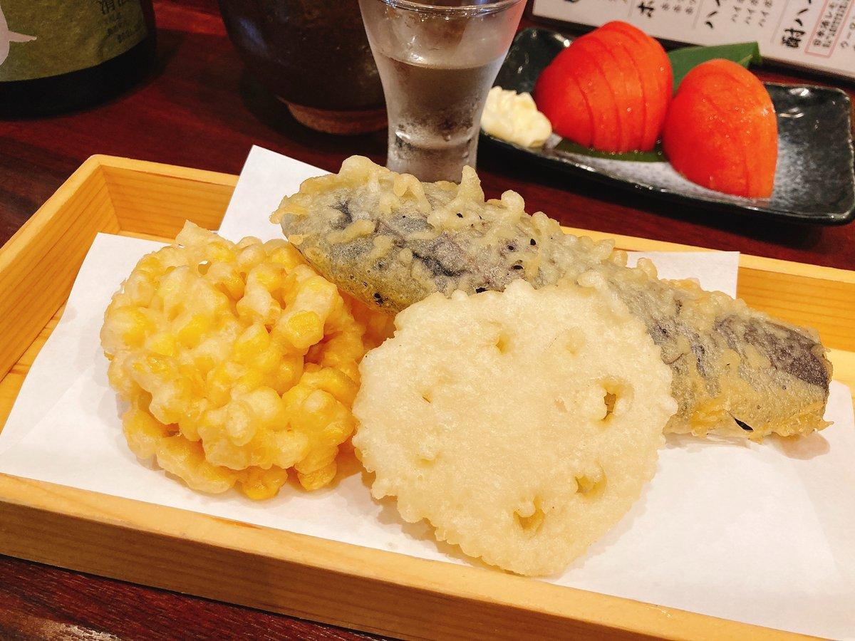 test ツイッターメディア - 天ぷらと日本酒は大親友。贅沢に十四代から始めて、屋守の飲み比べ。幸せ以外の何者でもない。 https://t.co/9ZCNW4oOkz