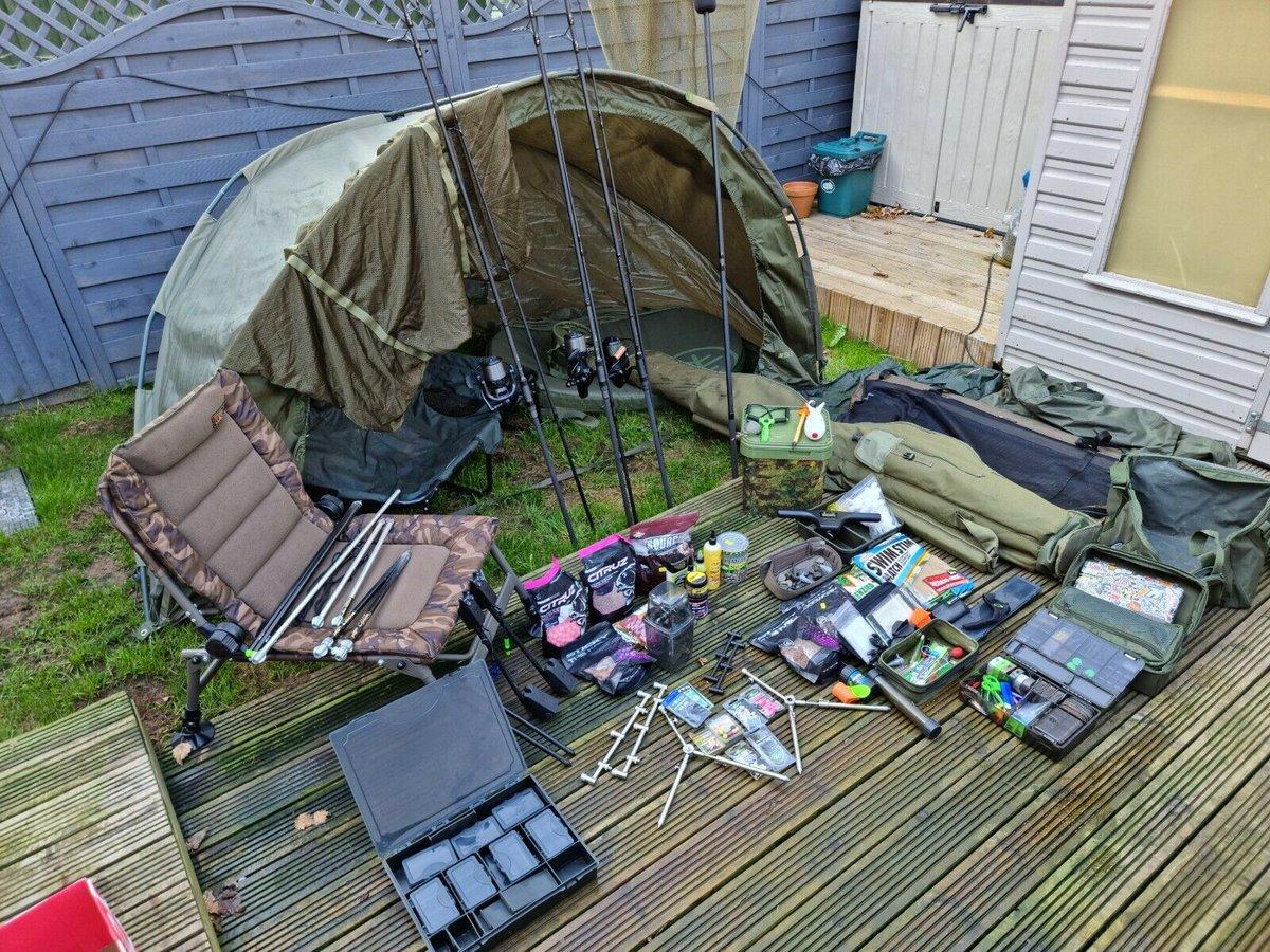 Ad - Full carp fishing set up for sale On eBay here --&<b>Gt;</b>&<b>Gt;</b> https://t.co/F1Alk7ElOm