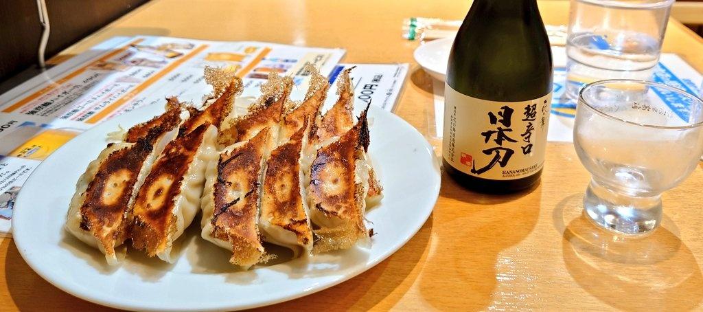 test ツイッターメディア - 新浜松駅に到着。 浜松ジオラマファクトリーというのがザザシティでやってたのでそれを観て、そのあと浜松駅内にある石松餃子で日本酒とともに晩酌。定番の石松餃子とお肉たっぷりの肉餃子、お出汁が美味しい水餃子、どれも美味しかったです。花の舞酒造さんの「かたな」はスッキリ飲みやすかったです https://t.co/BqArPGcoch