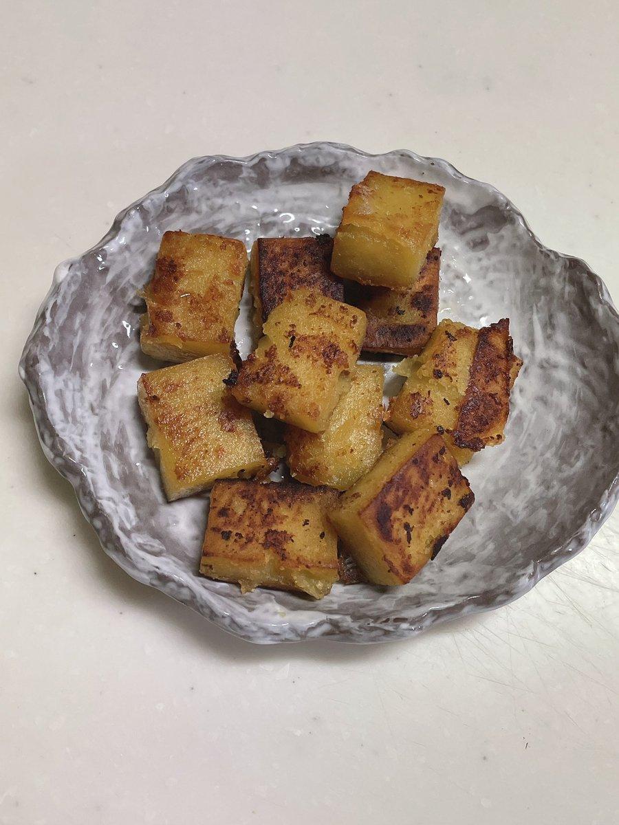 test ツイッターメディア - 舟和芋ようかんをバターで炒めたぁー https://t.co/Id5nPHeEwL