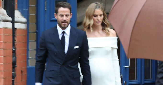 Jamie Redknapp's pregnant wife Frida Andersson changes surname on Instagram