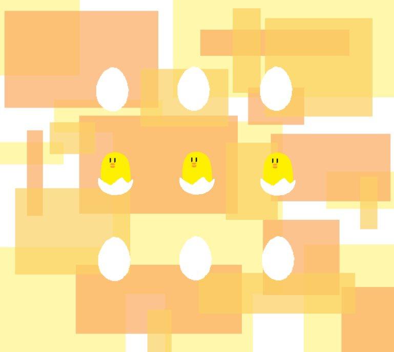 test ツイッターメディア - 3羽のひよ子🐥🐥🐥 #イラスト https://t.co/avuHNOA1Bd