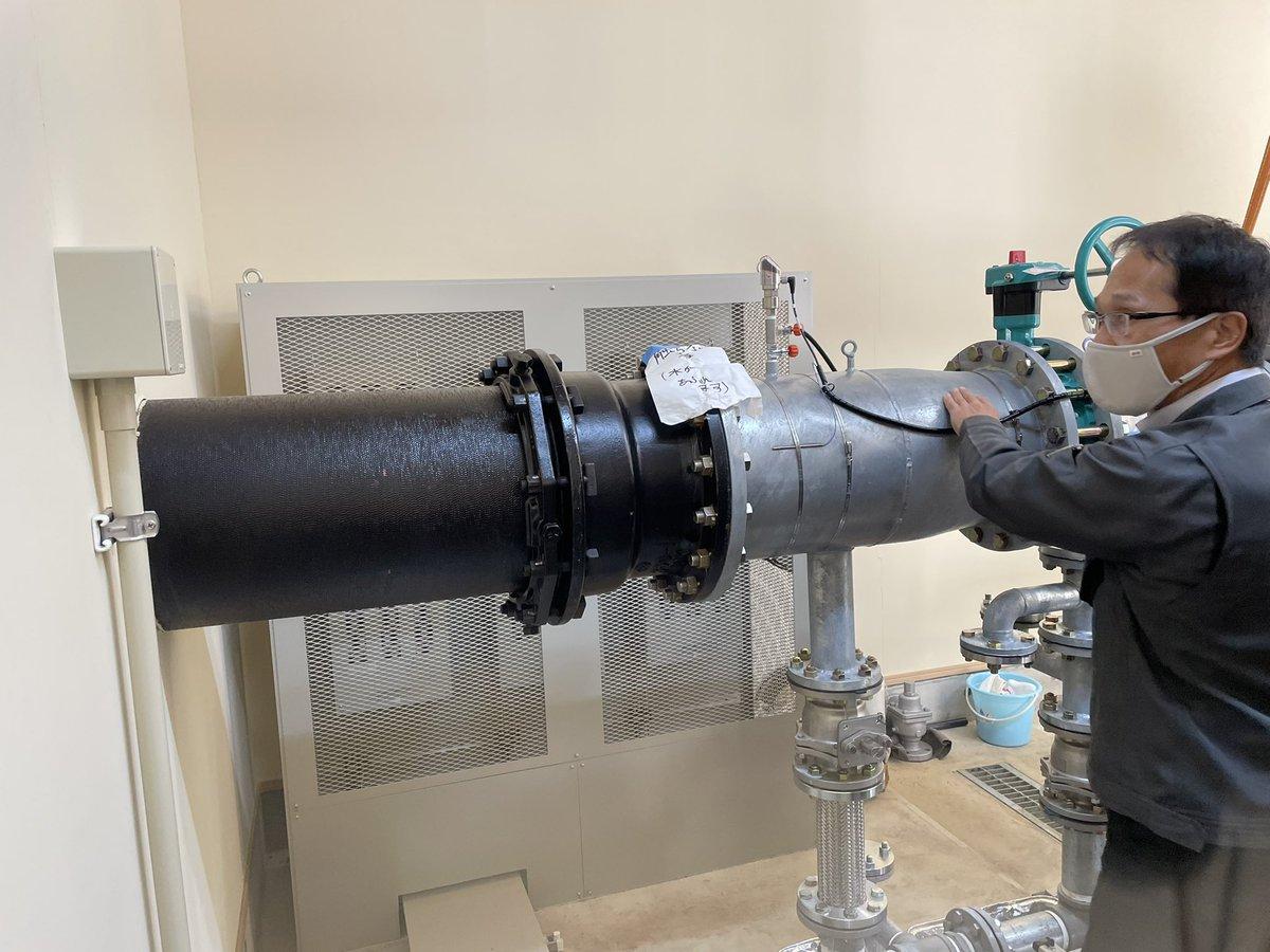 test ツイッターメディア - 岡崎酒造で使う電気は八ヶ岳水力第一発電所でつくられています。柗本社長のご案内で初めて小水力発電所を見ました!現在建設中の第二発電所は『御射鹿池』の水流を使うらしいです。 https://t.co/UTB1C0T3Jx