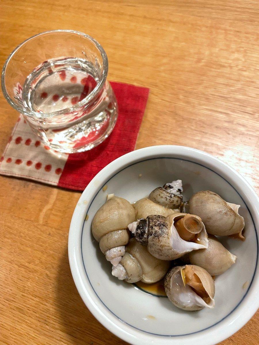 test ツイッターメディア - 西田酒造さん「田酒 純米吟醸秋田酒こまち」 ゴールデン・デンシュ〜! 良い意味で、ひっかかりなくサラッと飲め、香りも旨みも強くない。そうはいっても全体的なバランスがとても良い。よくできた酒ってこういう事なんだろうなという酒を体現。酒の肴はバイ貝の煮付け。 #西田酒造 #田酒 #日本酒 https://t.co/8RTeJSedqp