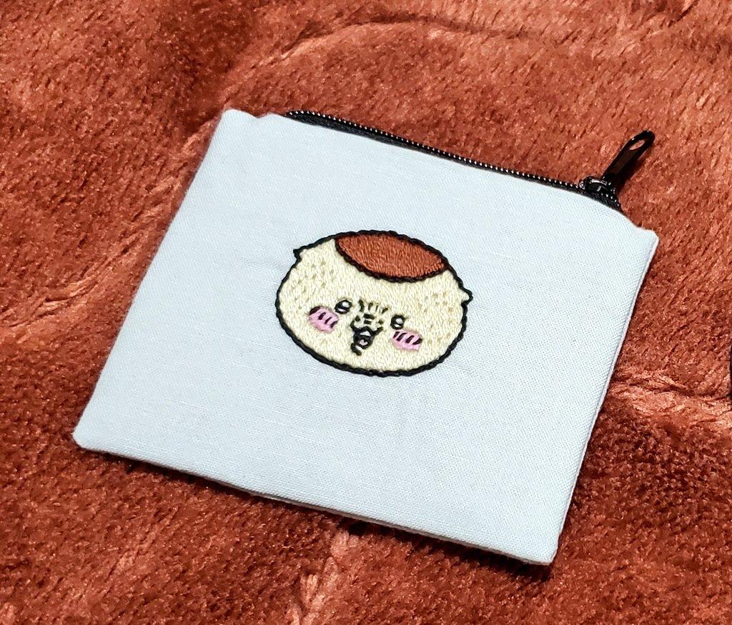 test ツイッターメディア - トッモが刺繍してプレゼントしてくれたんだ☺️ 私が大好きな栗まんじゅう!! https://t.co/F1CRkyvYYq