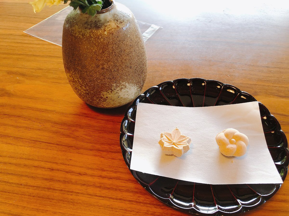 test ツイッターメディア - 和三盆作りを体験して、お抹茶を頂きました。女将が着物に着替えて点てて下さいます!!女将はすごく素敵な方で、憧れてしまいました。 https://t.co/EmFVOst29a