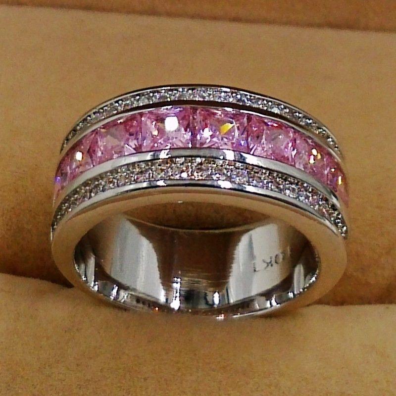 test Twitter Media - #chains Großhandel Frauen Vintage Schmuck 10kt weißes gold füllte Rosa AAA CZ Simulierte steine Kreis Hochzeit Braut Engagement Ring Geschenk https://t.co/cWC2ToPWD2 https://t.co/Dylszz3RtD