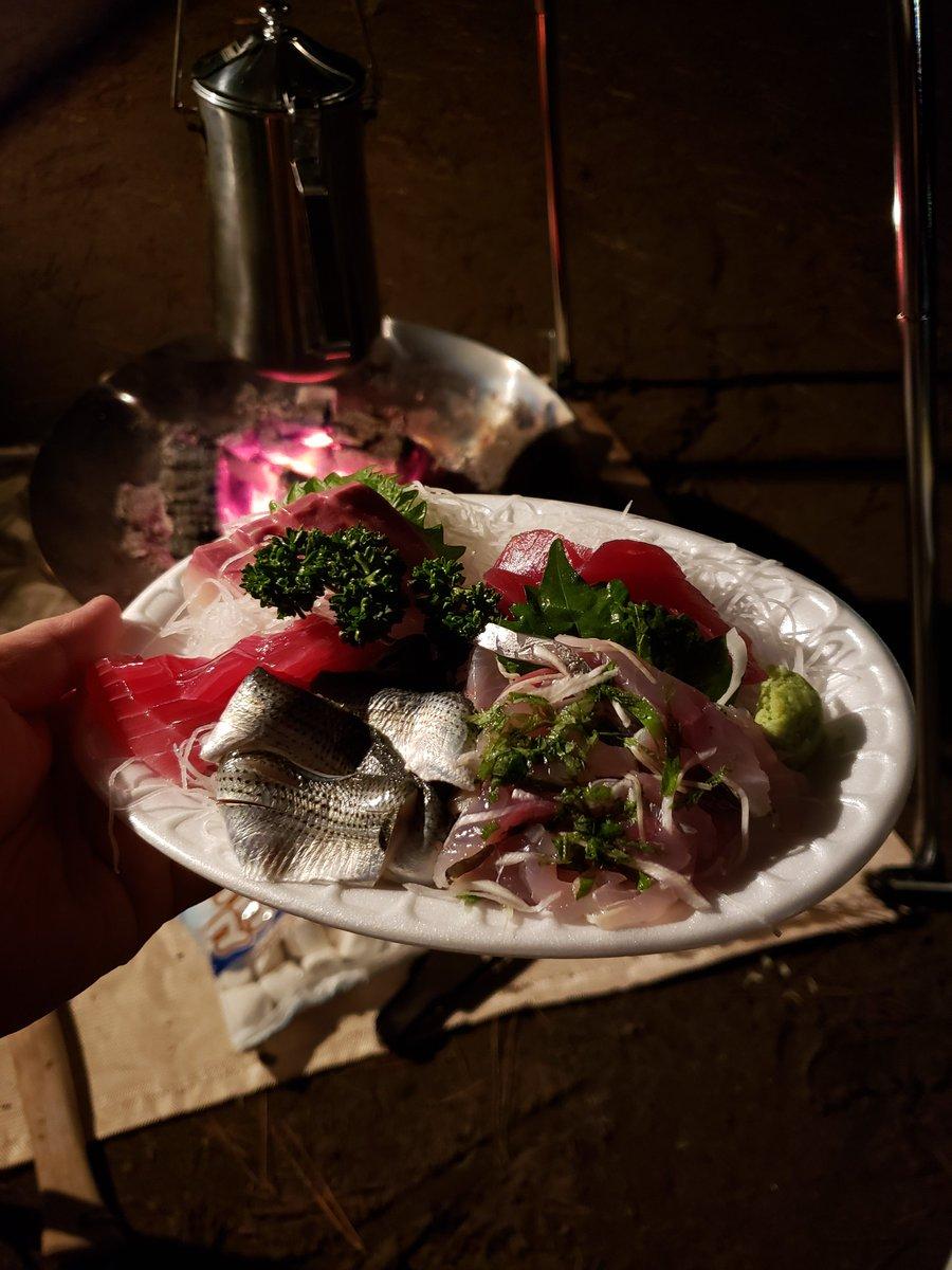 test ツイッターメディア - 大木鮮魚店さんのお造りと、月の井さんの日本酒で優勝したは(*'ω' *) https://t.co/X59O5Nrjvk