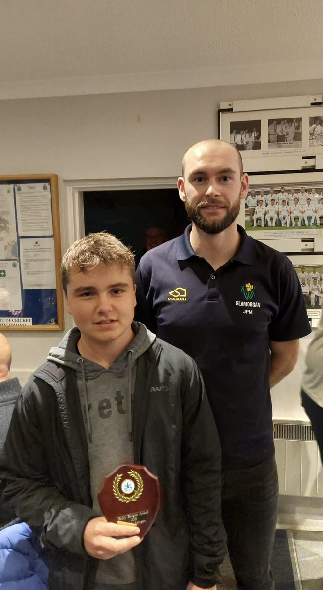 test Twitter Media - The MCC junior presentation evening took place to celebrate a great all round season for the juniors.   Thanks to @GlamCricket player @Jamiemcilroy94 for presenting the awards 🏏 https://t.co/DpfA8lWuAS