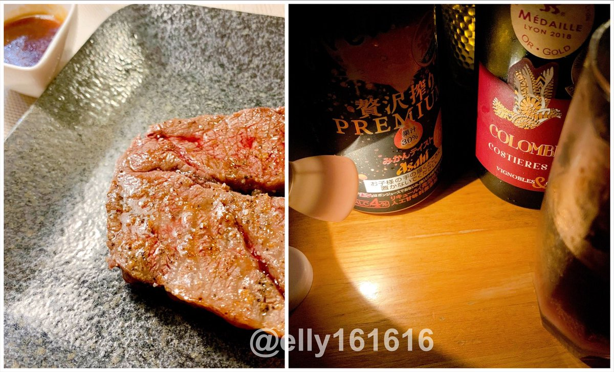 test ツイッターメディア - 昨日から一泊実家に(^^) 母の料理は毎度美味しく新しく。 いつもながら自分も日々の生活をブラッシュアップしようと活力を貰う(^^) お酒は父チョイス。 一枚目左上は佐々木蔵之介の実家佐々木酒造のものを利き酒。口当たりまろやかで左の方が辛め。 二枚目右、贅沢絞りと赤ワイン混ぜてサングリア風。 https://t.co/Knp57fNUQC