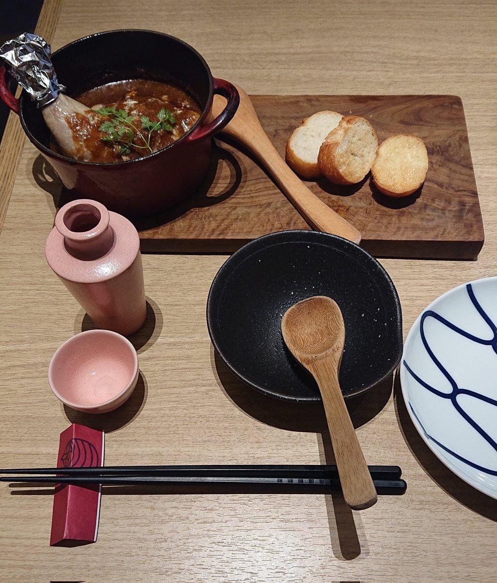 test ツイッターメディア - 今日はちょっとおリッチな昼食。 昼間っから頂く日本酒は山形の「くどき上手」。口当たり柔らかで程よい甘味だけど、飲み込んだ瞬間若干の辛みを伴うニクいやつ https://t.co/4lKhhxGLYj
