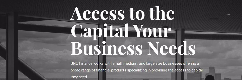 Bnc financial history zone updates