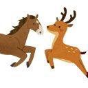 Horse&Deer 🐎🦌
