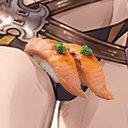 炙りサーモン(消費期限切)