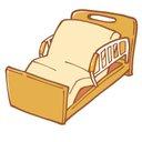 でこぼこベッド