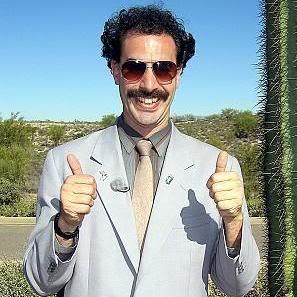 DevOps Borat Social Profile