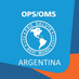 OPS/OMS Argentina's Twitter Profile Picture