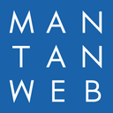 Mantan logo reasonably small