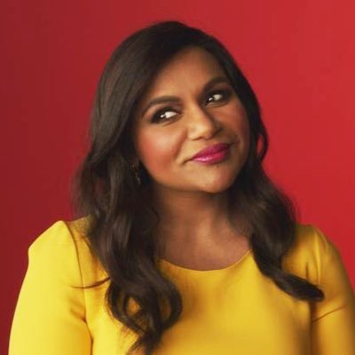 Mindy Kaling's Twitter Profile Picture