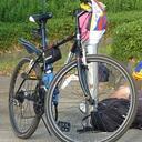 Q☆@24時間テレビマラソン自転車追跡班