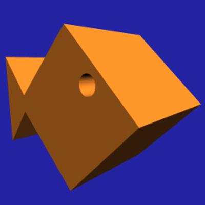 Square Goldfish | Social Profile