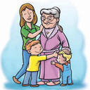 The Caring Grandma