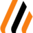 Logo transparent orange schwarz normal