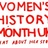 Women'sHistoryMonth