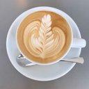 miyamon@Plant-based latte art