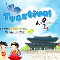 Twestival Seoul | Social Profile