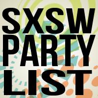 SXSW PartyList! Social Profile
